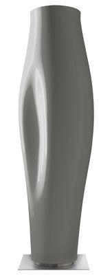 Pot de fleurs Missed tree I / H 159 cm - Version laquée - Serralunga argent laqué en métal