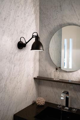 N° 304 Wandleuchte - / Badezimmer-Lampe Schwarz, matt by DCW ...