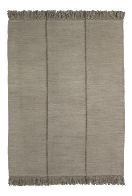 Tapis Mia / 170 x 240 cm - Nanimarquina gris en tissu