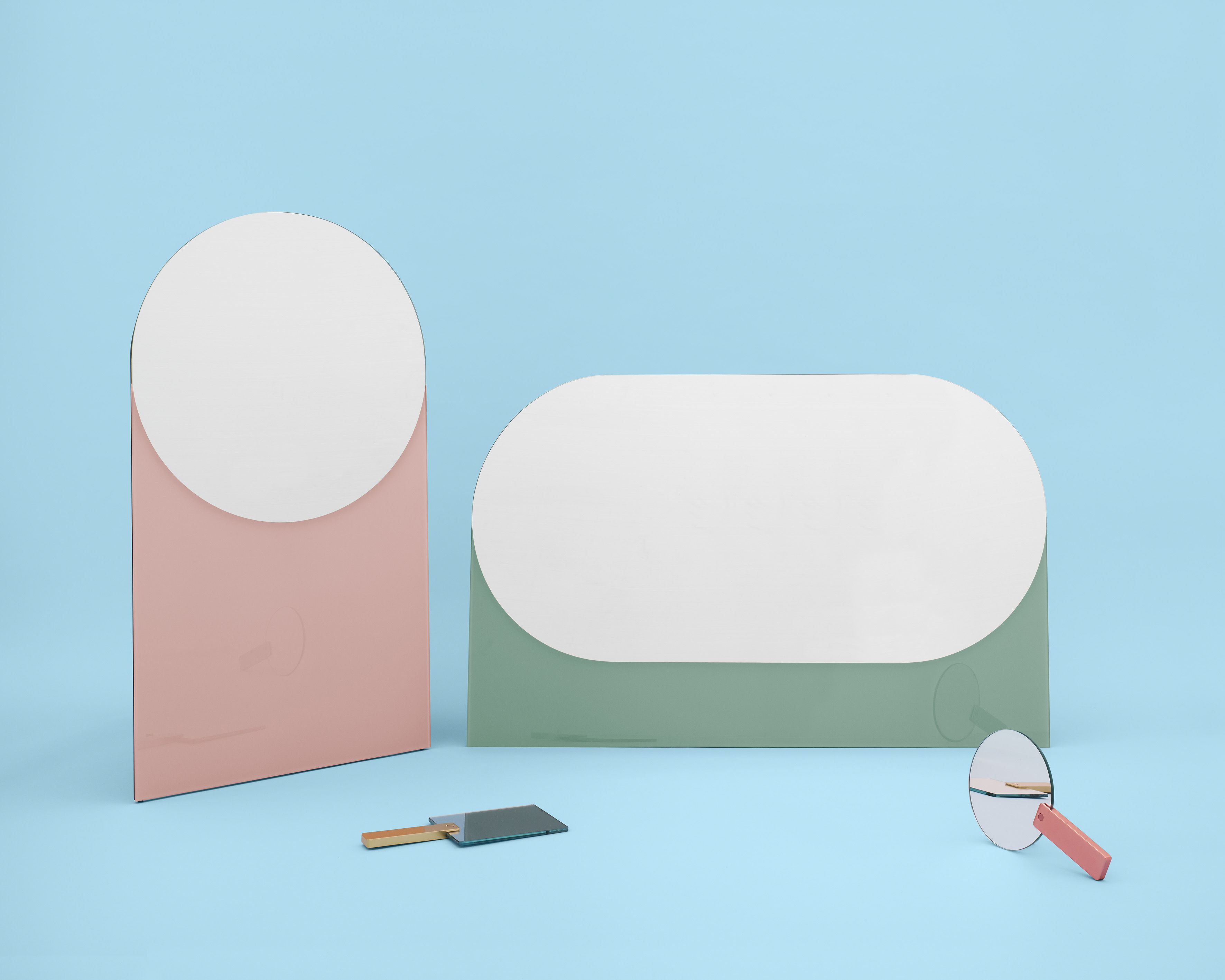 shape rund small l 50 x h 90 cm hay spiegel. Black Bedroom Furniture Sets. Home Design Ideas