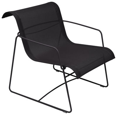 Ellipse Lounge Sessel - Fermob - Lakritz