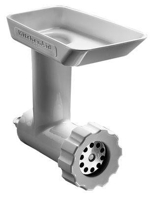 Cuisine - Electroménager - Accessoire pour batteur sur socle hachoir - KitchenAid - Blanc - Métal