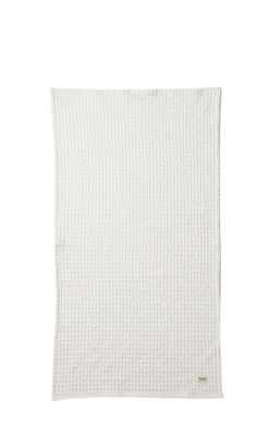 Serviette Organic / 100 x 50 cm - Ferm Living blanc en tissu