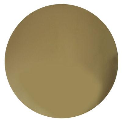 Déco - Miroirs - Miroir mural rond / Ø 39,5 cm - & klevering - Rond  - Bronze - Verre