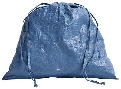 Accessoires - Sacs, trousses, porte-monnaie... - Bourse Packing essentials / Large Ø 37 cm - Tyvek riciclato - Hay - Bleu - Tyvek