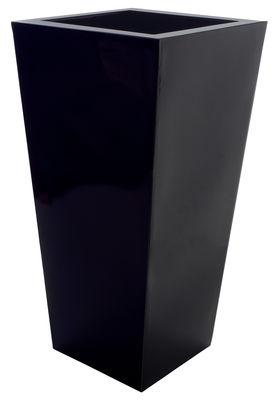 Outdoor - Vasi e Piante - Vaso per fiori Kabin Maxi di Serralunga - Nero - Polietilene
