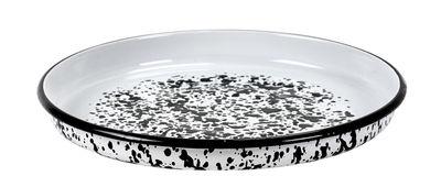 Arts de la table - Plats - Plat Pasta Pasta / Pour pâtes - Acier - Ø 35 cm - Serax - Noir & blanc - Porcelaine