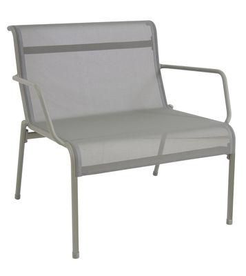 Kira Lounge Sessel / mit Outdoor-Bespannung - Emu - Grünblau