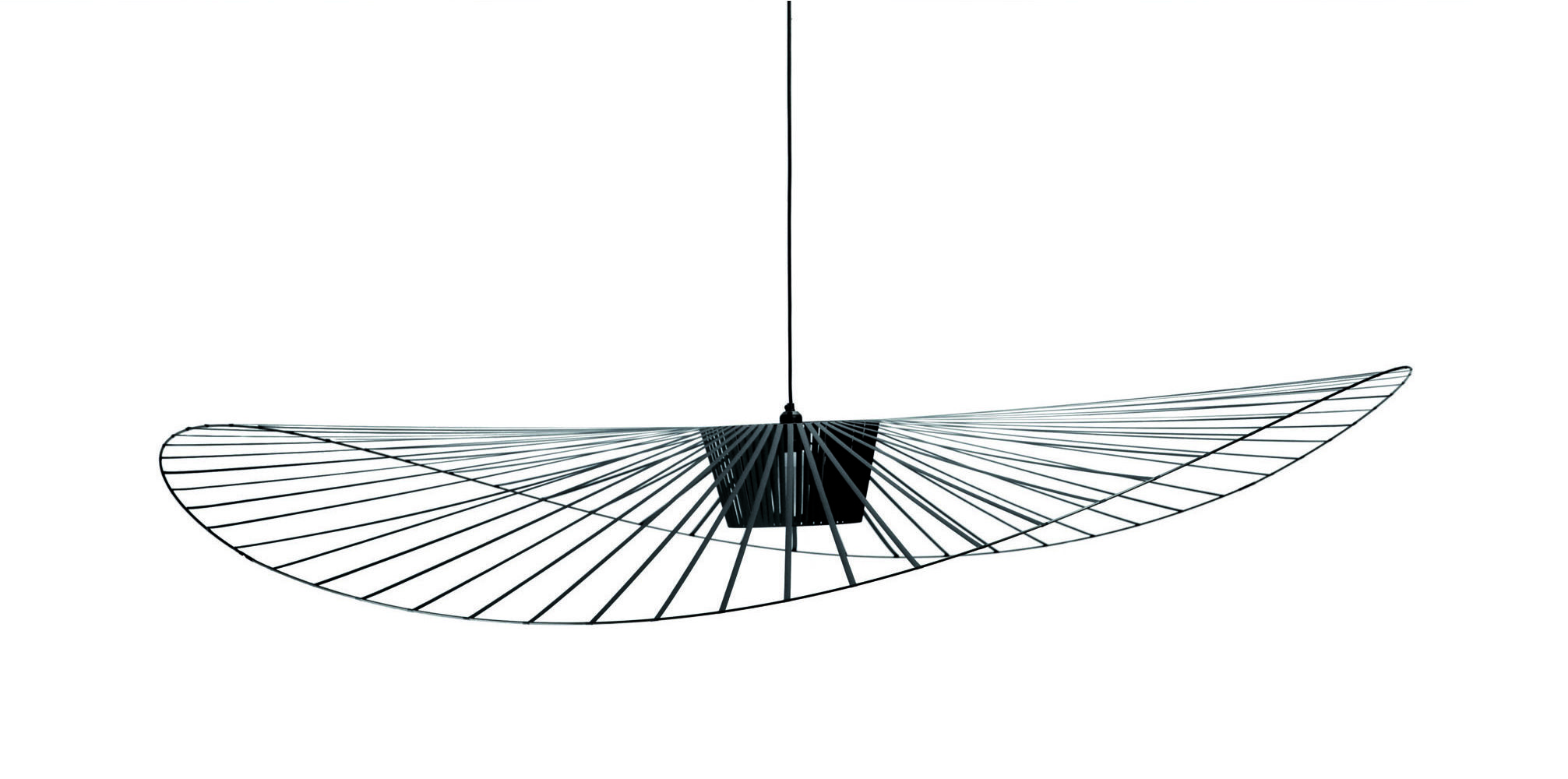 vertigo pendant small 140 cm black by petite friture