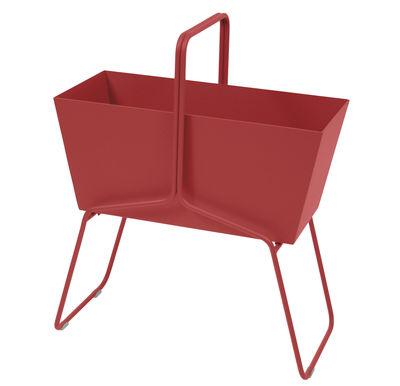 Foto Fioriera Basket alta / L 70 x H 84 cm - Fermob - Pepper - Metallo