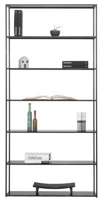 Foto Libreria Easy Irony / L 178 x H 226 cm - Zeus - Nero ramato - Metallo