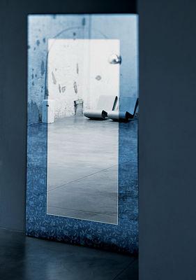 Miroir outline sur pied ou mural 200 x 100 cm 100 x for Miroir en pied mural