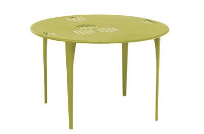 Pattern Tisch Ø 117 cm - Emu - Grün
