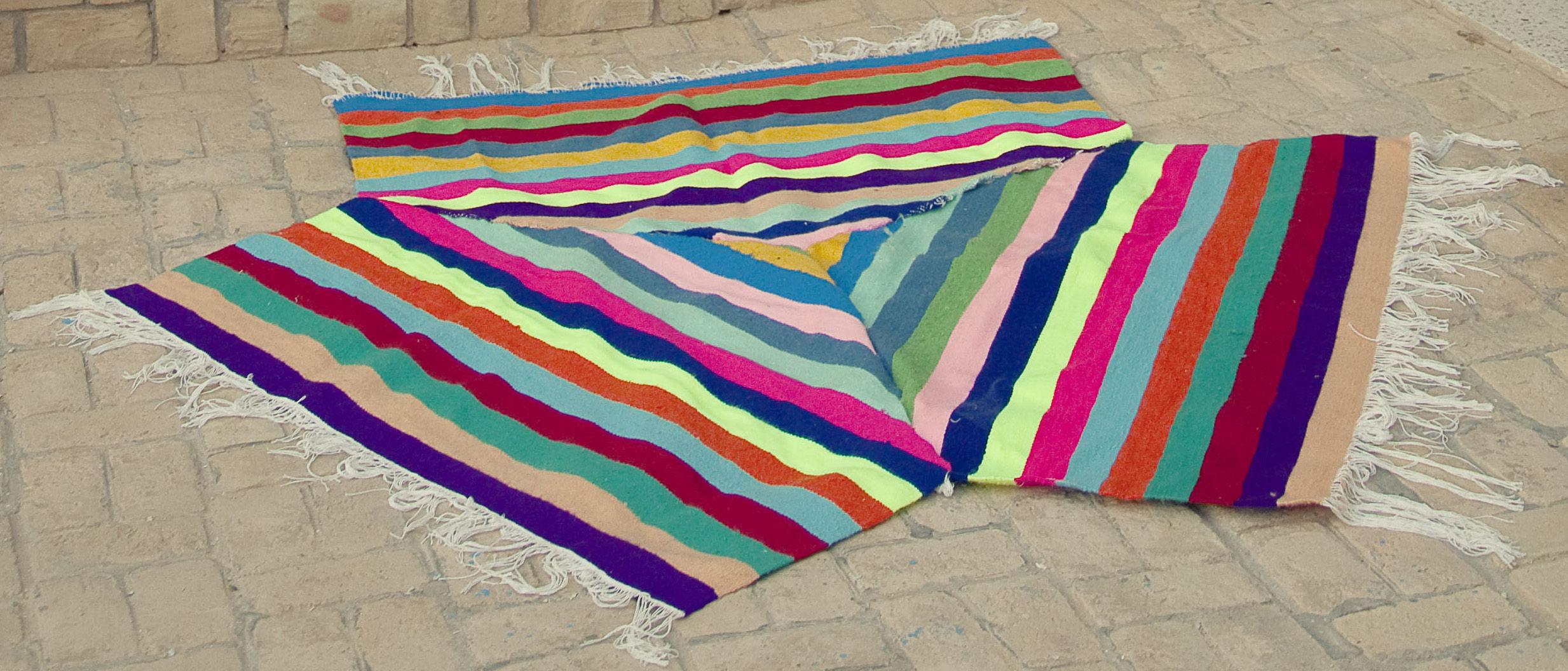 Tapis kilim de convivialit 3 places grand mod le l 190 - Made in design tapis ...
