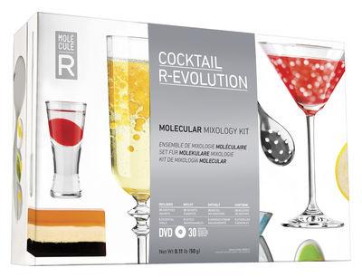 Arts de la table - Bar, vin, apéritif - Kit cuisine moléculaire Cocktail R-ÉVOLUTION - Molécule-R - Cocktails - Acier, Papier, Verre