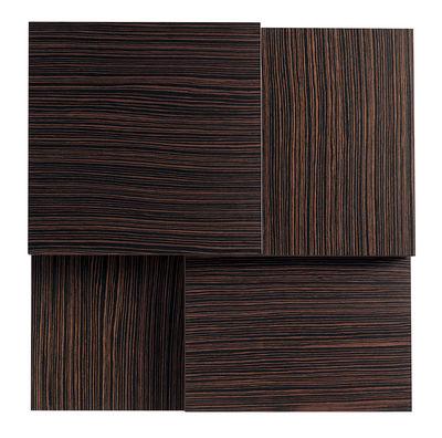 Table basse Rotor / Plateaux pivotants - Kristalia wengé en bois