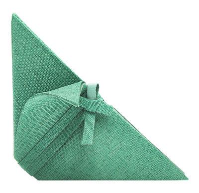 Arts de la table - Nappes, serviettes et sets - Serviette de table Iittala X Issey Miyake - Iittala - Emeraude - Polyester