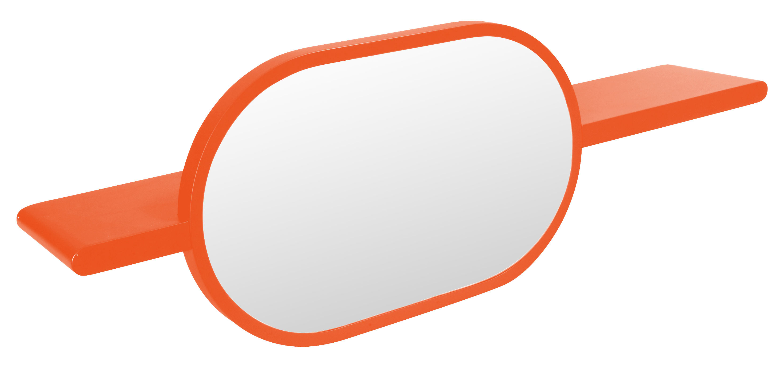 Etag re mirette miroir ovale horizontal l 100 cm for Miroir horizontal design