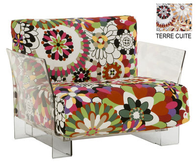 Pop Missoni Gepolsterter Sessel - Kartell