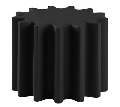 Tavolino Gear - /Sgabello di Slide - Nero - Materiale plastico
