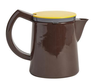 Cafetière à filtre manuelle Medium 0,8 L Hay jaune,marron,gris en céramique