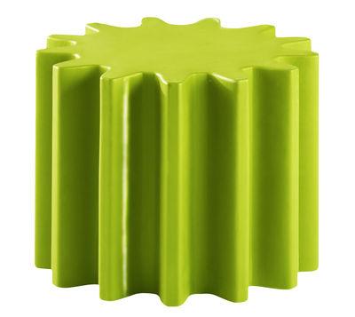 Gear Couchtisch lackiert - Slide - Grün lackiert