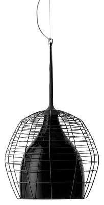 Foto Sospensione Cage - Ø 46 cm di Diesel with Foscarini - Nero - Metallo