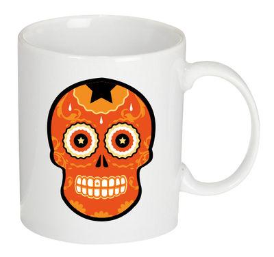 Mug Tetmex / Céramique - Gangzaï design orange en céramique
