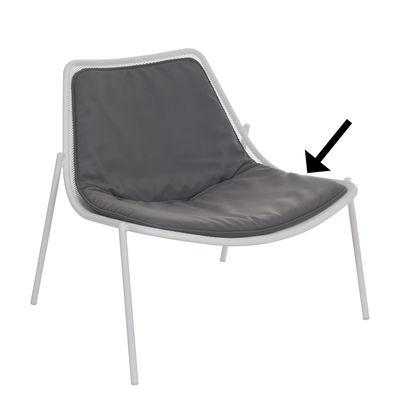 """Kissen / für Sessel """"Round"""" - Emu - Dunkelgrau"""
