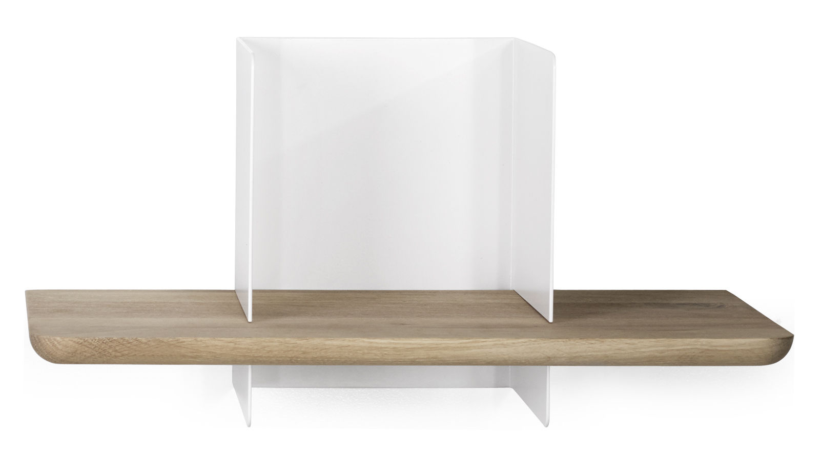 etag re clip small l 50 cm ch ne naturel blanc universo positivo. Black Bedroom Furniture Sets. Home Design Ideas
