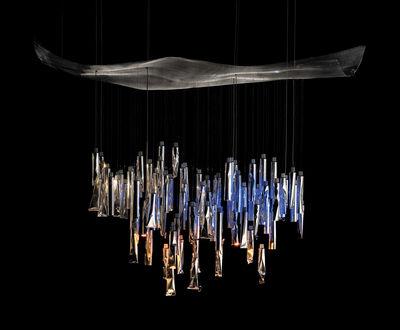 Lighting - Pendant Lighting - Tu-Be Lüster Pendant by Ingo Maurer - Aluminium - Aluminium