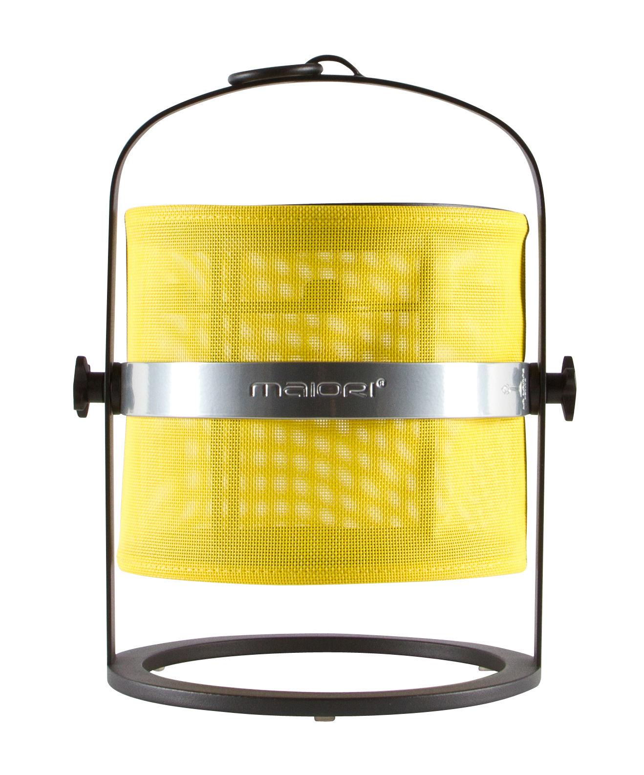 lampe solaire la lampe petite led sans fil structure noire citron structure noire maiori. Black Bedroom Furniture Sets. Home Design Ideas