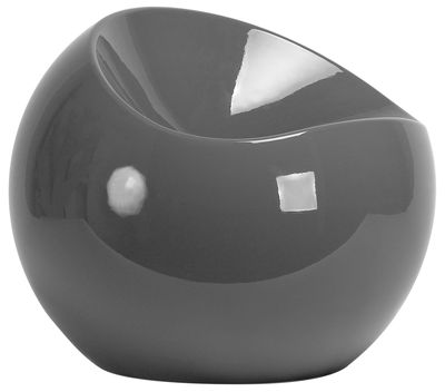 Ball Chair Pouf Grey by XL Boom | Made In Design UK