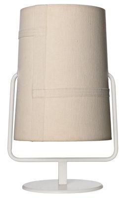 Foto Lampada da tavolo Fork Mini - / H 36 cm di Diesel with Foscarini - Avorio - Metallo