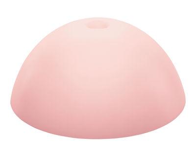Abat-jour Stella XL / Ø 67 cm - Koziol rose poudré en matière plastique