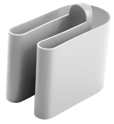 Porte-revues Buk - B-LINE gris clair en matière plastique