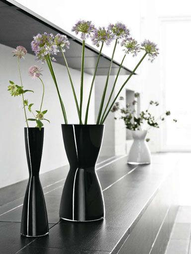 Florentine Vase H 26 Cm H 26 Cm Black By Eva Solo Made In Design Uk