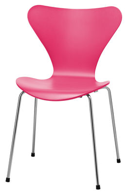Furniture   Chairs   Série 7 Stacking Chair   Lacquered   Exclusive Color  By Fritz Hansen