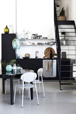 walker stuhl metall f r innen und au en grau by. Black Bedroom Furniture Sets. Home Design Ideas