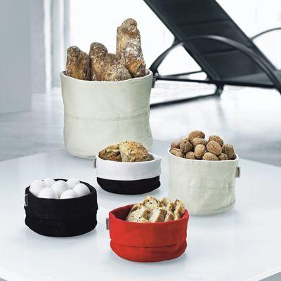 corbeille pain bread bag beige blanc stelton. Black Bedroom Furniture Sets. Home Design Ideas
