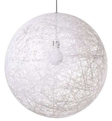 Suspension Random Light / Small - Ø 50 cm - Moooi blanc en matière plastique