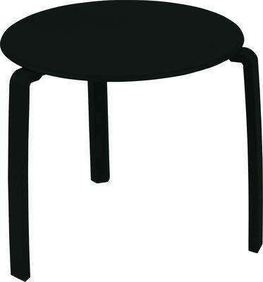 Tavolino Alizé - Fermob - Liquirizia - Metallo