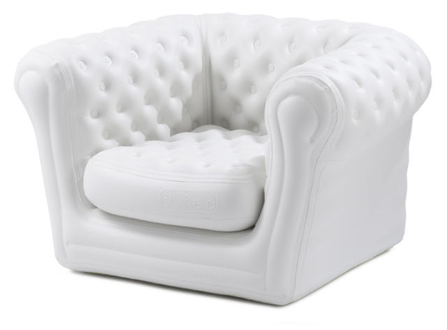 big blo 1 inflatable armchair inflatable white by blofield. Black Bedroom Furniture Sets. Home Design Ideas