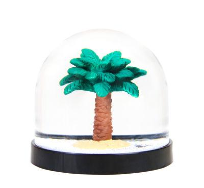 Image of Palla da neve / Palma - & klevering - Nero,Verde - Materiale plastico