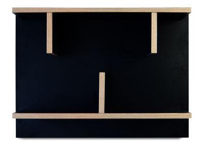 Etagère Rack / L 60 x H 45 cm - POP UP HOME noir,bois naturel en bois
