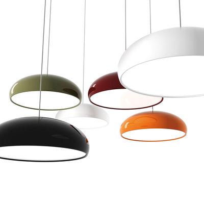 suspension pangen orange int blanc fontana arte made in design. Black Bedroom Furniture Sets. Home Design Ideas
