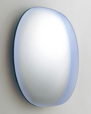 Déco - Miroirs - Miroir mural Shimmer / Verre - L 100 x H 80 cm - Glas Italia - Multicolore - Verre