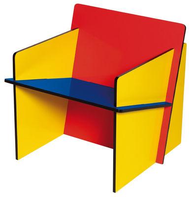 Bauchair Sessel - Seletti - Blau,Gelb,Rot