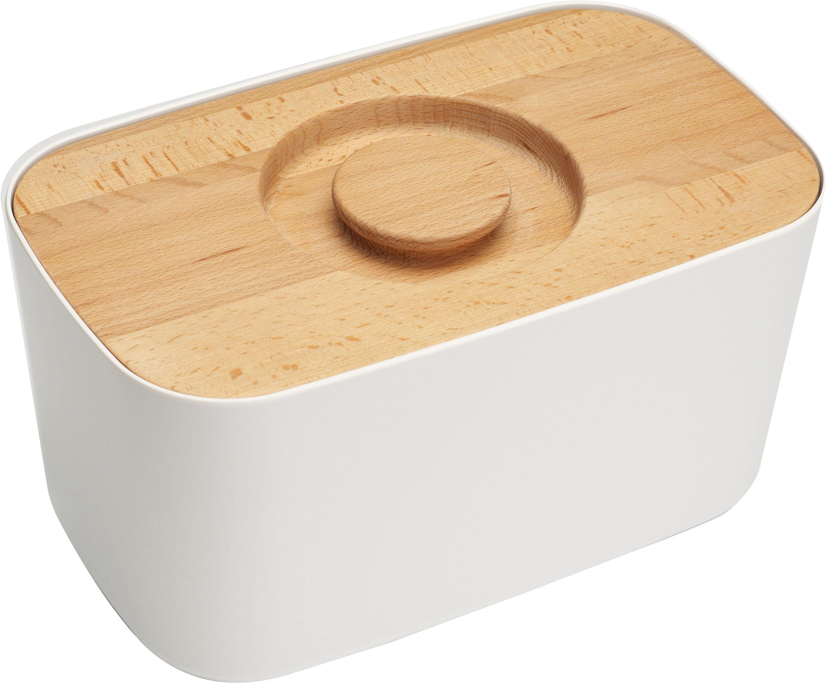 bo te pain m lamine couvercle planche d couper l 35 cm blanc joseph joseph. Black Bedroom Furniture Sets. Home Design Ideas
