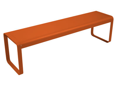 Banc Bellevie / L 161 cm - 4 places - Fermob carotte en métal